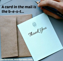 hands with Thank you notex